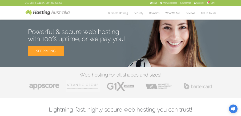 best web hosting australia
