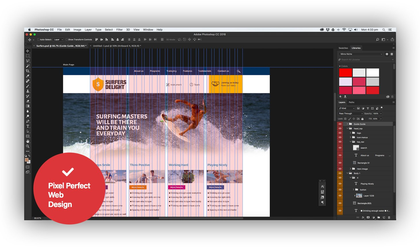 What is Pixel Perfect Website Design?