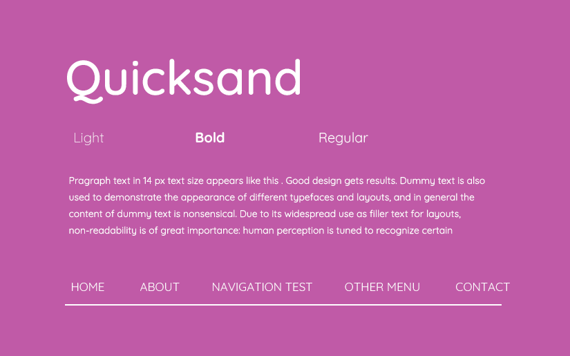 beautiful web safe fonts